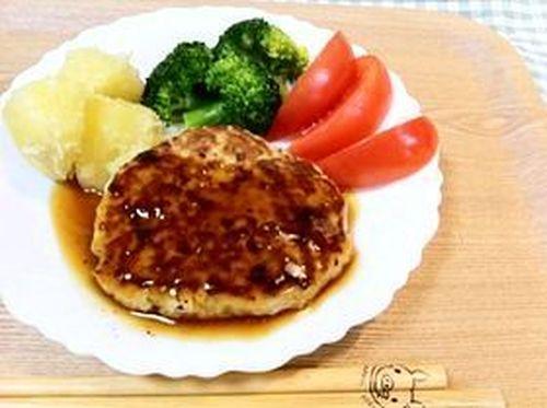 Soft Tofu Hamburg Steak: Japanese Style