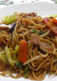 Chewy Yakisoba Noodles