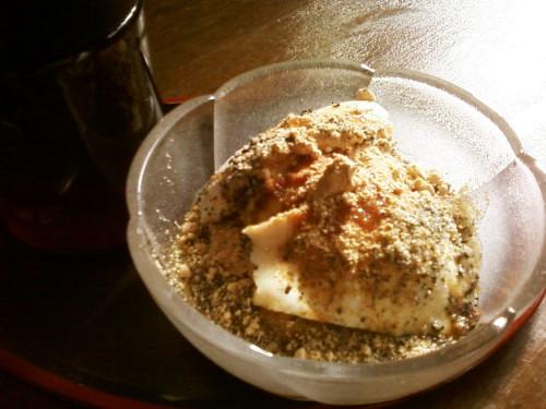 Super Easy Silken Tofu Dessert with Sesame Kinako Kuromitsu