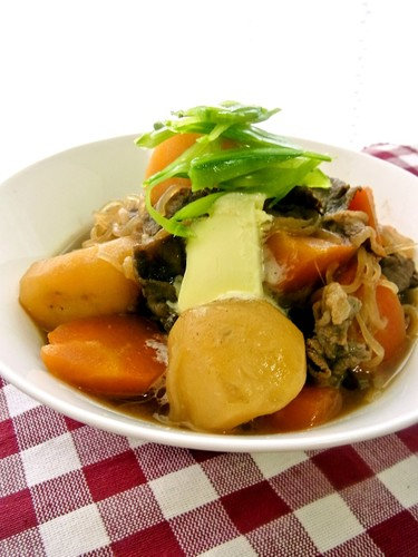 Comforting Nikujaga - Simmered Meat and Potatoes