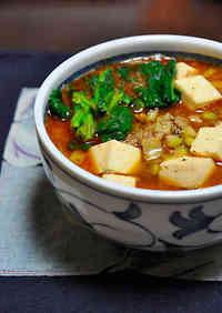 Spicy! Mapo Noodles~ Mapo Tofu Ramen~