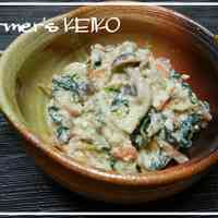 [Farm House Recipe] Shiro-ae Vegetables and Mushrooms