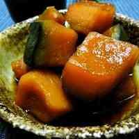 Simmered Kabocha Squash with Brown Sugar