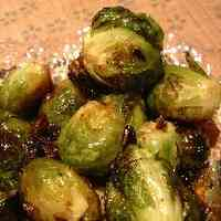 Garlic Grilled Brussels Sprouts
