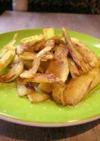 Curry and Cinnamon Flavored Sautéed Parsnip