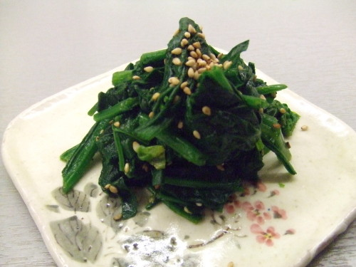 Boiled Spinach--There's a Limit to Being Fuss-free!