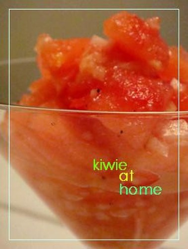 Refreshing Cold Tomato Salad