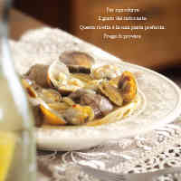 Authentic Vongole Bianco Clam Pasta