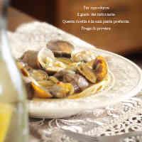 Authentic Vongole Bianco Clam Pasta