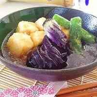 Agedashi Deep-Fried Tofu and Eggplant