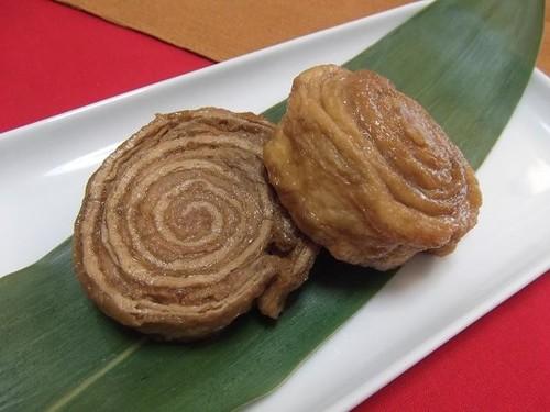 Pork and Aburaage Rolls