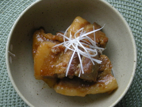 Soft Simmered Pork Belly