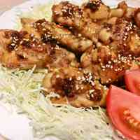 Flavorful Teriyaki Chicken Drumettes In a Frying Pan