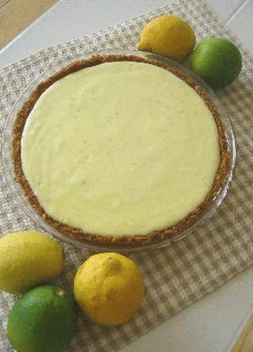 Lemon and Lime Pie