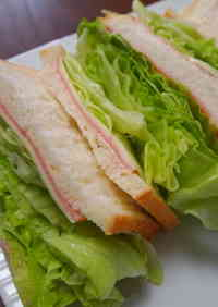 Lots of Lettuce Sandwich