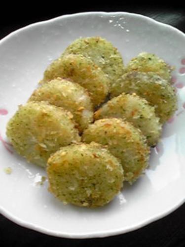 Fried Crispy Yam with Ao-Nori Seaweed