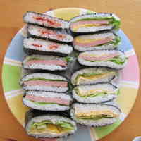 Easier Than Onigiri! Rice Sandwiches With Different Fillings