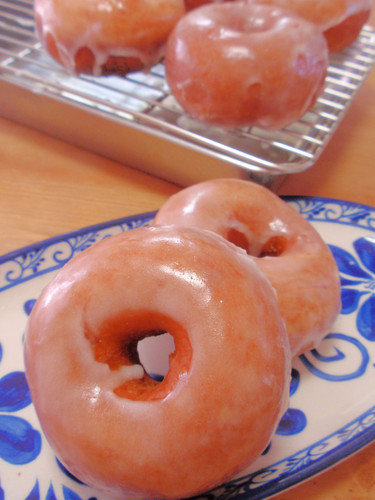 Soft and Chewy Krispy Kreme-Style Donuts
