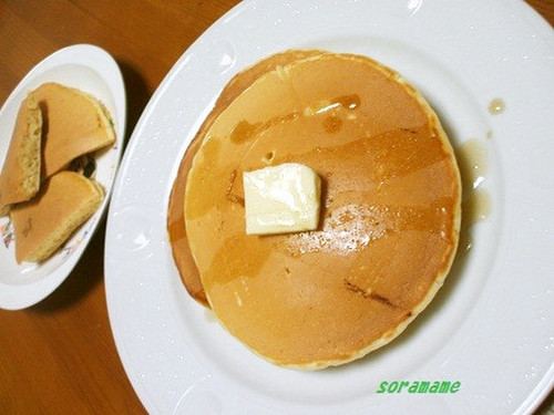 Delicious Pancakes Made with Flour