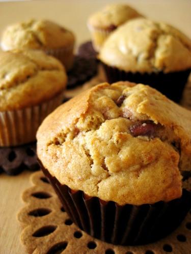 Brown Sugar and Adzuki Bean Muffins