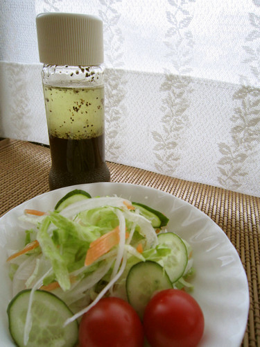 Japanese-style Salad Dressing (for my daughter Mii-chan)