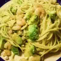 Shrimp and Avocado Pesto