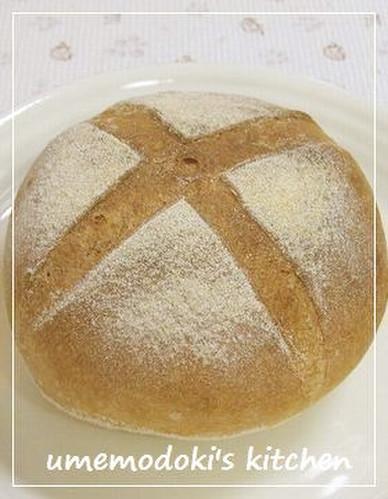Pain de Campagne with Bread Flour and Cake Flour -Version