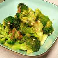 Microwaved Broccoli with Ume and Garlic