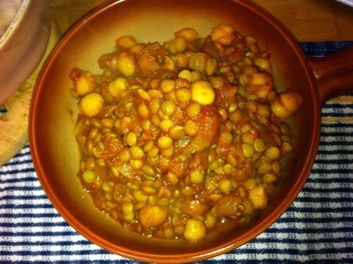 Filling Macrobiotic Bean Curry
