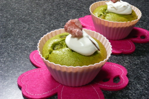 Oil-Free Green Tea Muffins