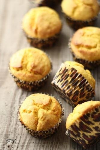 Easy! Fluffy Kabocha Squash Muffins