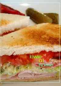 Low Calorie Turkey Sandwich