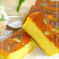 Fluffy and Moist Sweet Potato Cake