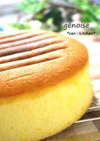 Whole Egg Sponge Cake (Genoise)