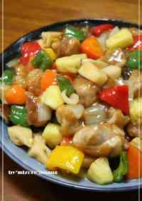 Sweet and Sour Pork Taiwan Style Chicken in Pineapple Vinegar Sauce