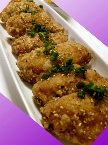 Izakaya-style Famous dish in Nagoya Fried Chicken Wings
