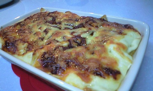 Completely Handmade Lasagna