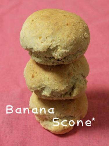 Banana Scone Using Pancake Mix
