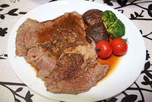 Beef Steak with Delicious Sauce