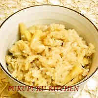 Bamboo Shoot Rice [With Instructions on How to Boil Bamboo Shoots]