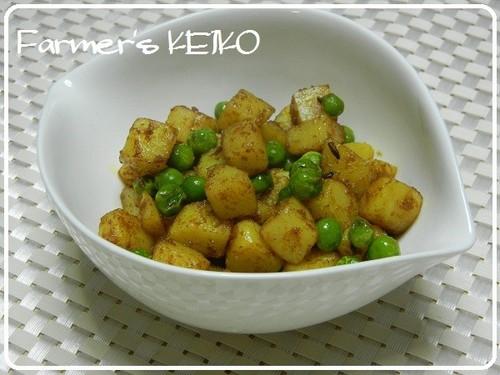 [Farmhouse Recipe] Curried Stir-Fry Potatoes