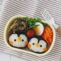 Penguin Onigir Rice Balls