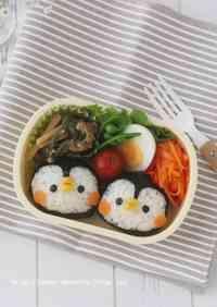 Penguin Onigir Rice Balls