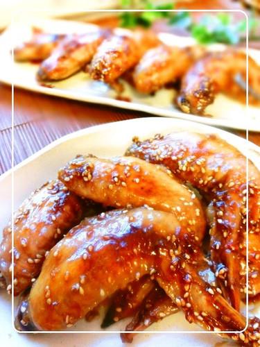 Crisp, Sweet, Salty & Delicious ★ Chicken Wings