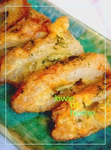 Fluffy Chikuwa Isobe Age Fritters with Aonori Seaweed