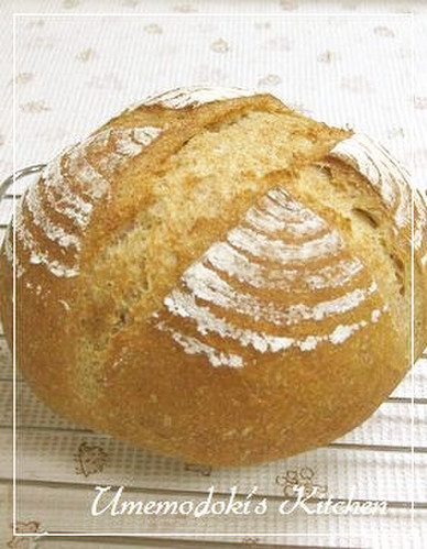 Pain de Campagne With Lots of Whole Wheat Flour