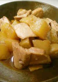 Simmered Tuna & Daikon Radish