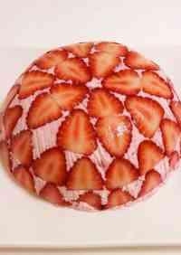 Condensed Milk Strawberry Mousse