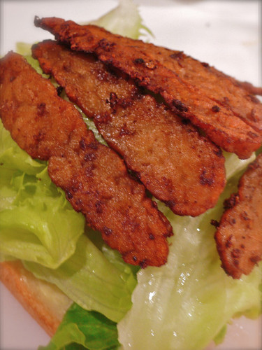 Vegan & Macrobiotic Tempeh Bacon