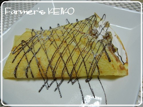 [Farmhouse Recipe] Rice Flour Chewy Crepe